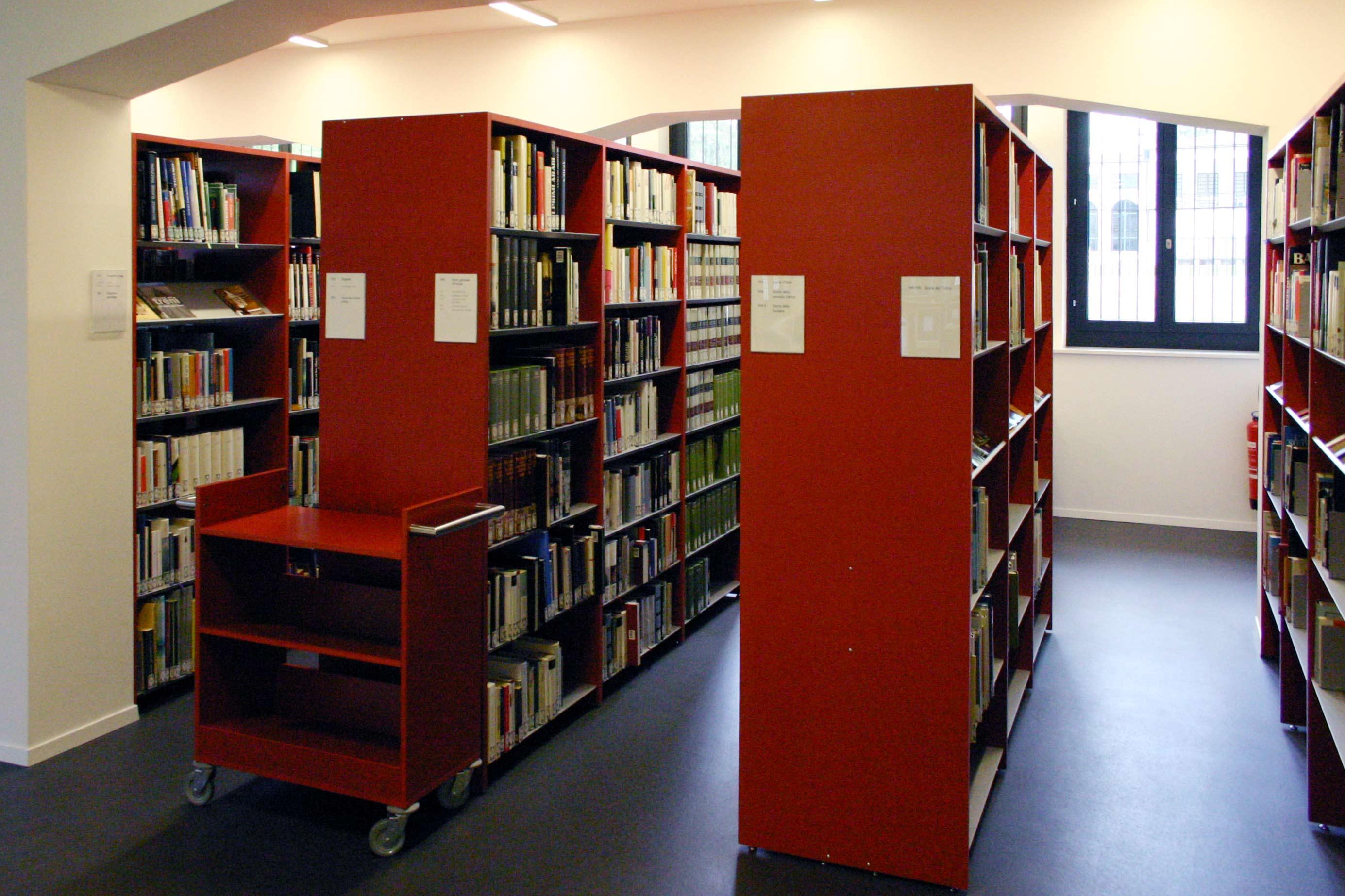 Alfapro libreria e scaffali